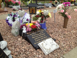 Kevin's memorial place