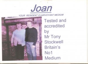 Tested and Accredited by Tony Stockwell